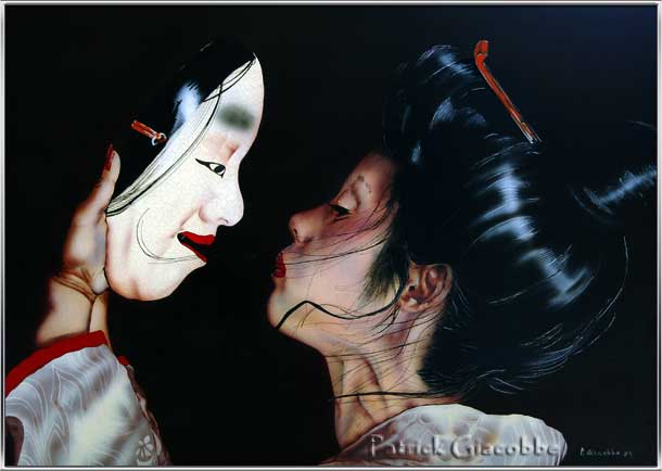 PatrickGiacobbe.Com - The Mask and the Japanese Girl