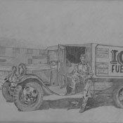 Antique Ice Truck