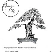 Bonsai Inking